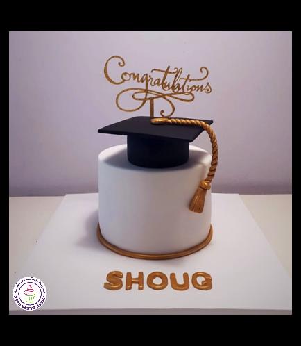 Graduation Themed Cake 56