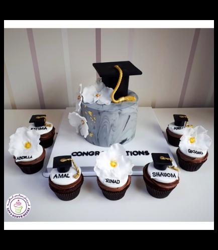 Graduation Themed Cake 58b