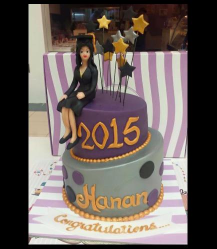 Graduation Themed Cake 20