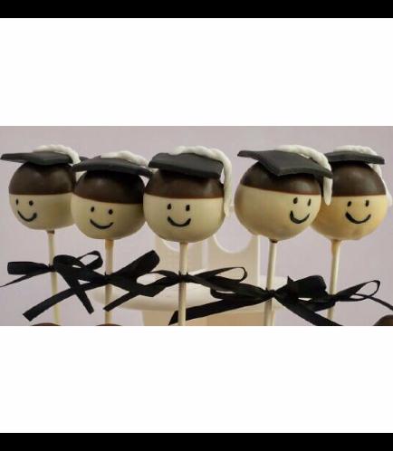 Graduation Themed Cake Pops 3