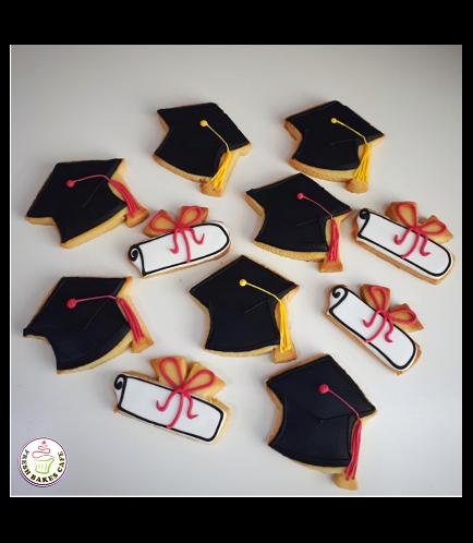 Graduation Themed Cookies 12