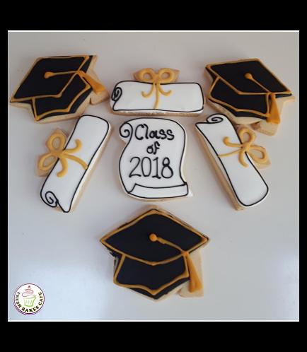 Graduation Themed Cookies 6