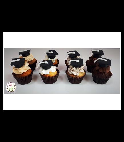 Graduation Themed Cupcakes 9