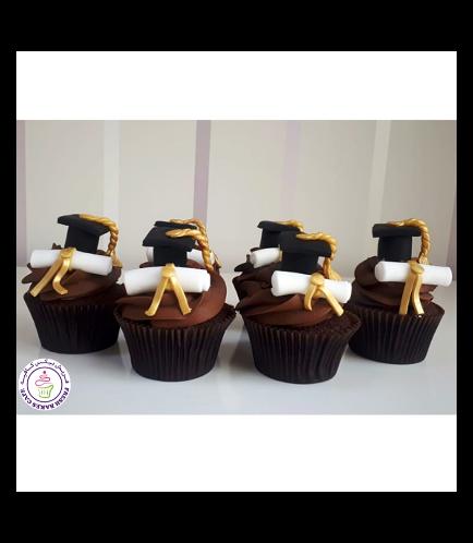 Graduation Themed Cupcakes 11