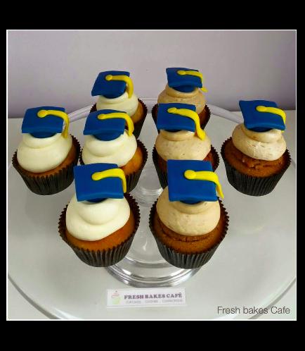 Cupcakes - Graduation Cap 01