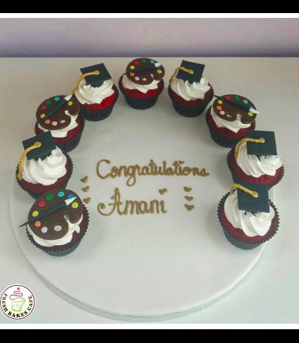 Graduation Themed Cupcakes 5