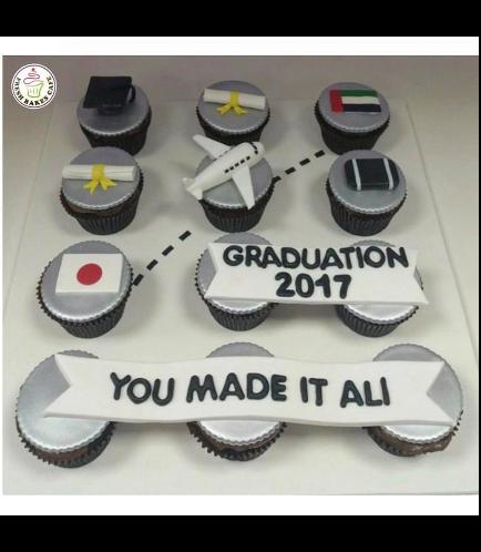 Graduation Themed Cupcakes 6