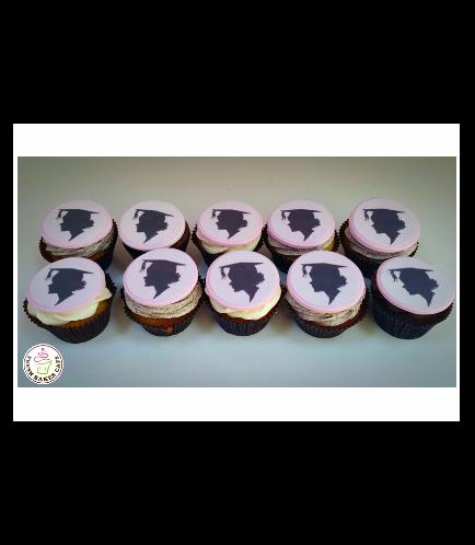 Graduation Themed Cupcakes 8