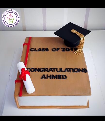 Cake - Graduation - Book 02a