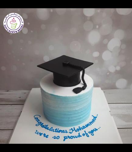 Cake - Cream Cake - Ombre - Blue