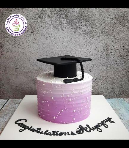Cake - Cream Cake - Ombre - Purple 02