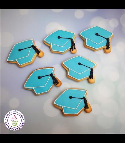 Cookies - Graduation Caps 04