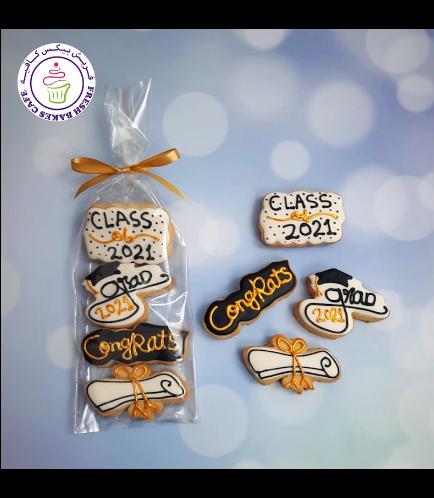 Cookies - Graduation Caps & Diplomas 04