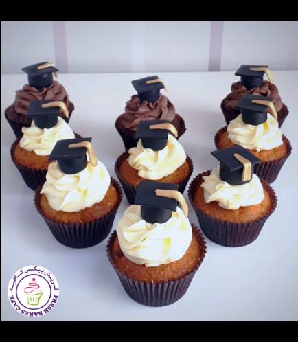 Cupcakes - Graduation Cap 02