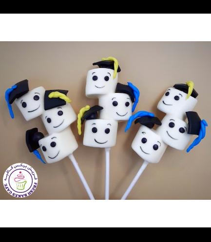 Marshmallow Pops - Graduates 01