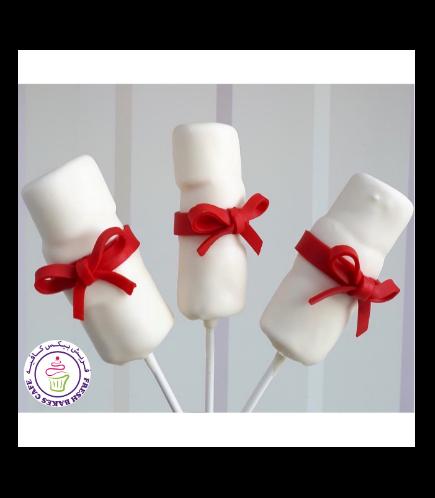 Graduation Themed Marshmallow Pops 01