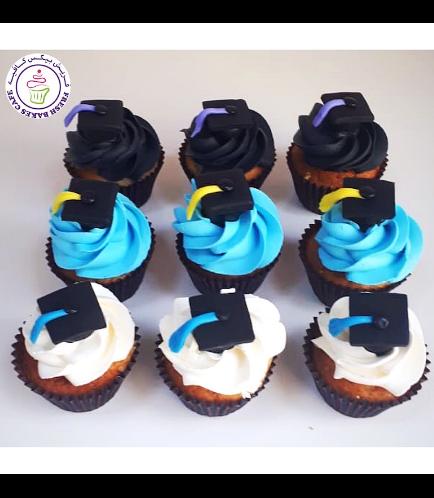 Cupcakes - Graduation Cap - Minis