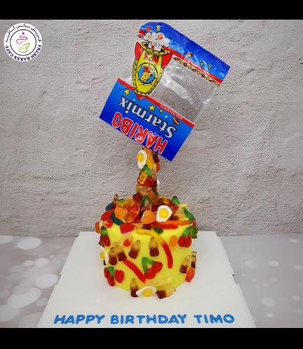 Gummy Themed Cake