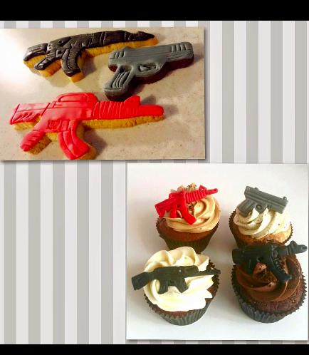 Cookies & Cupcakes - Guns & Rifles