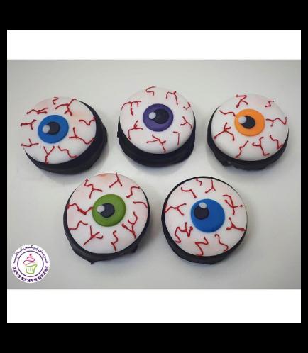 Halloween Themed Chocolate Covered Oreos - Eyeballs 01