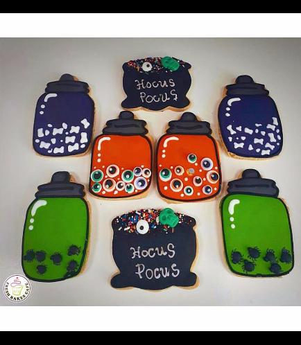 Cookies - Potion Jars & Cauldron
