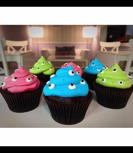Cupcakes - Eyeballs 03