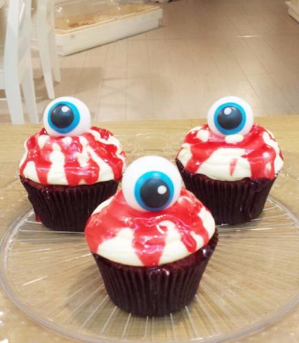 Cupcakes - Eyeballs 01