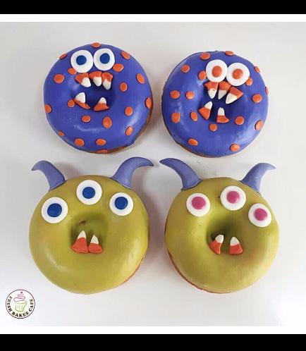 Halloween Themed Donuts 1