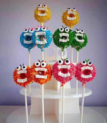 Donut Pops - Monsters
