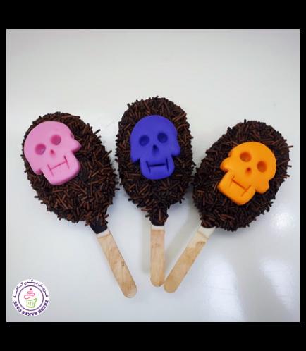 Popsicakes - Skulls