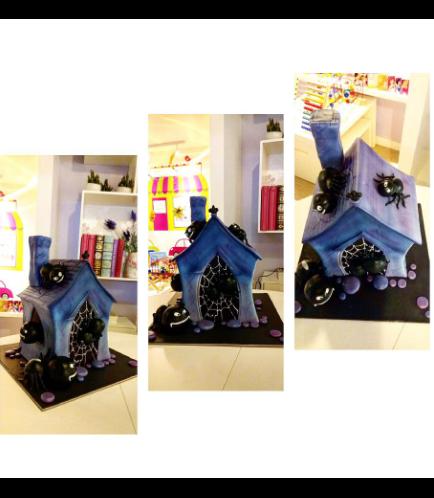 Cake - Haunted House - 3D Cake 01