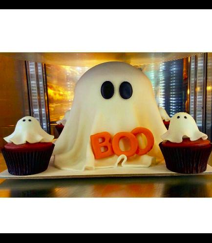 Cake - Ghost - 3D Cake 01