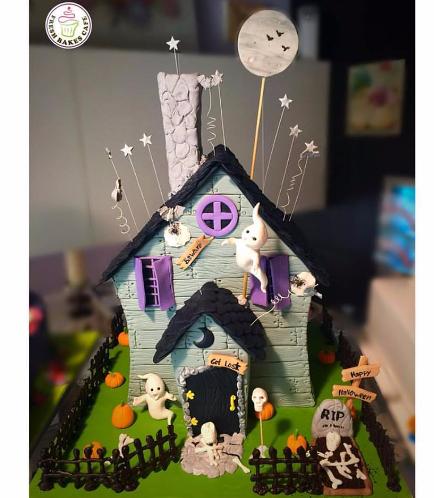 Cake - Haunted House - 3D Cake 02