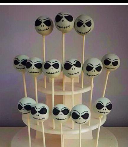 Cake Pops - Jack Skellington 01