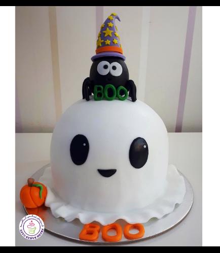 Cake - Ghost - 3D Cake 02