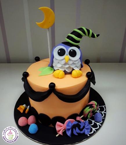 Cake - Owl - 3D Cake Topper