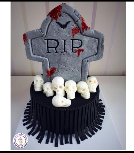 Cake - Skulls - 3D Cake Toppers 01