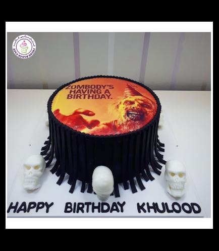 Cake - Skulls - 3D Cake Toppers 02