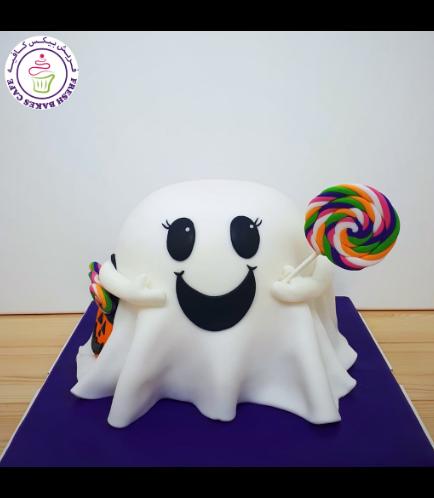 Cake - Ghost - 3D Cake 03