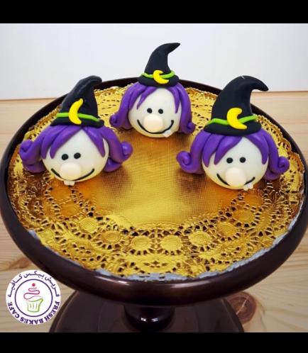 Cake Pops w/o Sticks - Witches