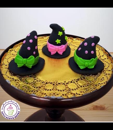 Cake Pops w/o Sticks - Witch Hats