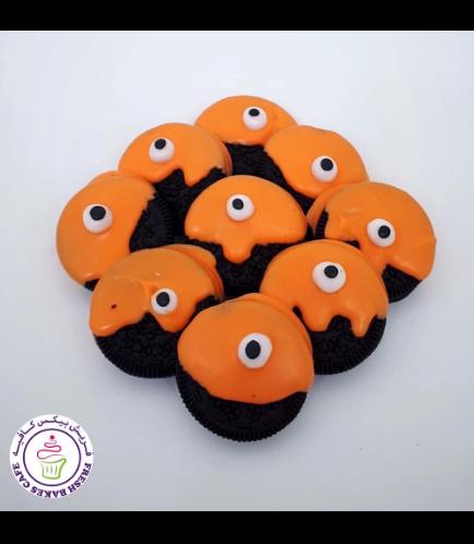 Halloween Themed Chocolate Covered Oreos - Eyeballs 02