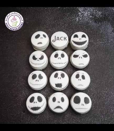 Halloween Themed Chocolate Covered Oreos - Jack Skellignton 01
