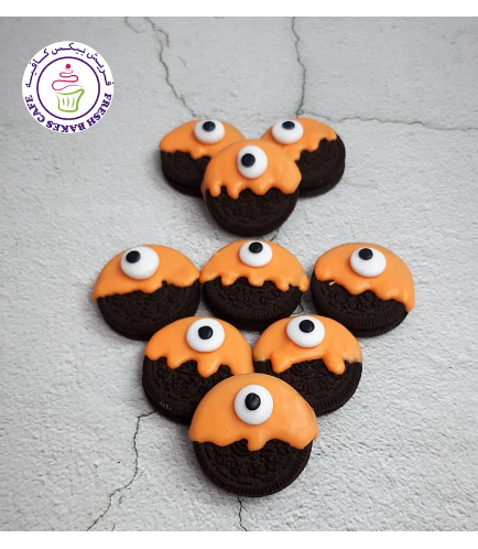 Halloween Themed Chocolate Covered Oreos - Monsters 01