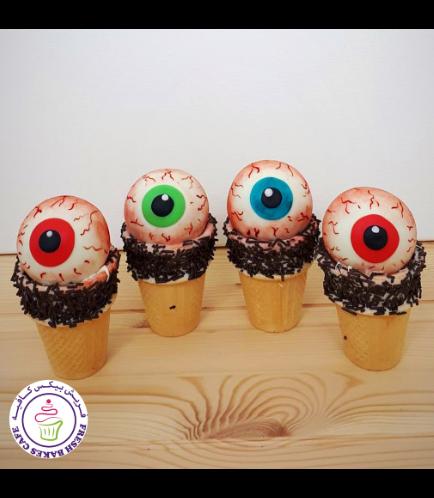 Cone Cake Pops - Eyeballs 02