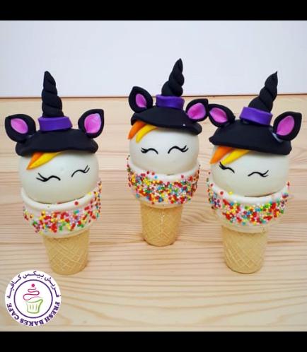Cone Cake Pops - Unicorn 02