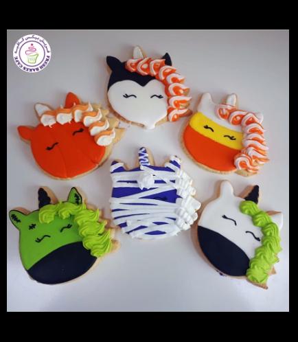 Cookies - Halloween - Unicorn 01