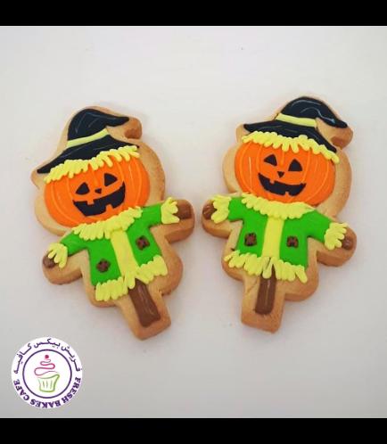 Cookies - Jack-O-Lantern Scarecrow