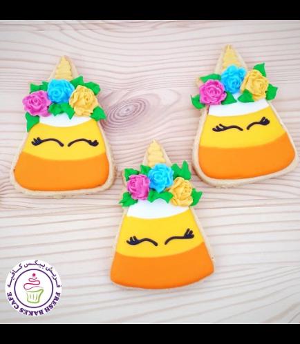 Cookies - Candy Corn - Unicorn