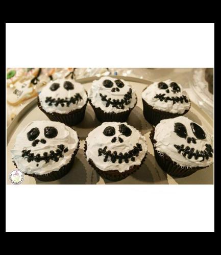 Cupcakes - Jack Skellington